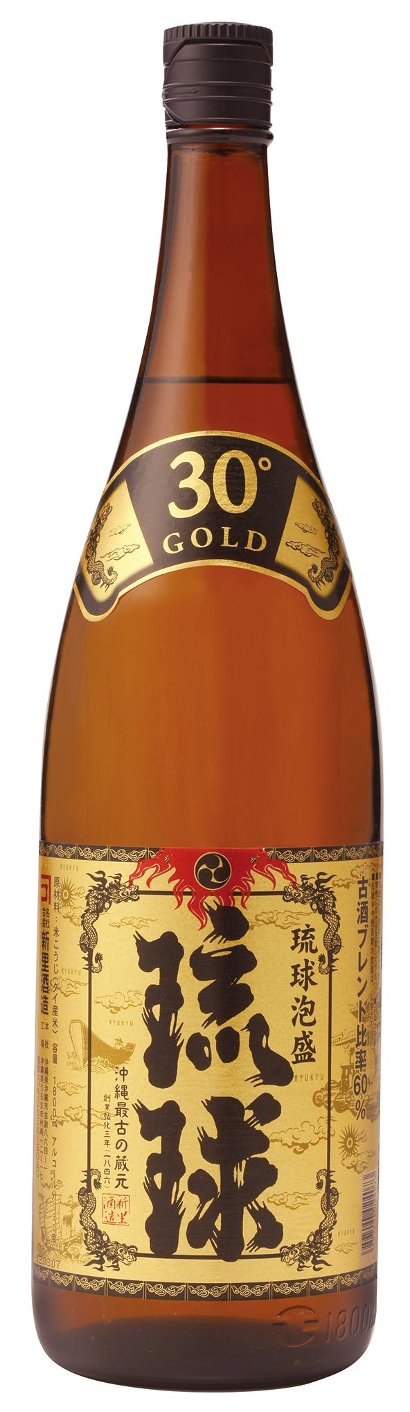 新里酒造 琉球ゴールド 30度 1800ml