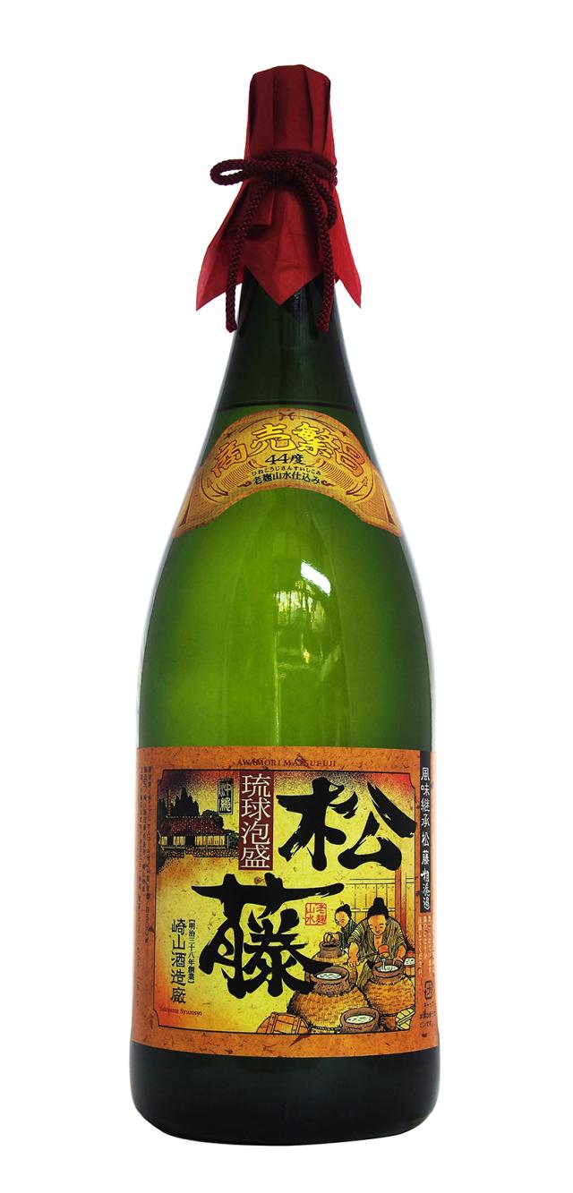 松藤 粗濾過 44度 益々繁盛ボトル (4500ml)