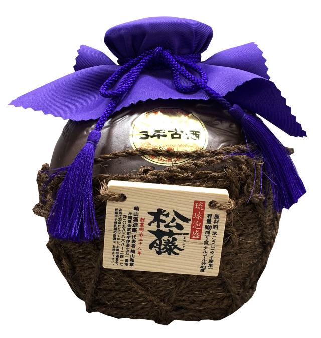 松藤 3年古酒 五合壷 (900ml)