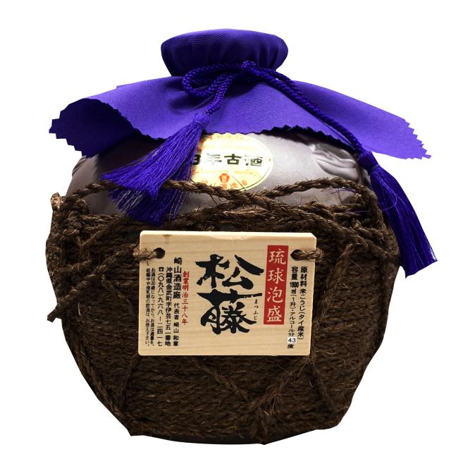 松藤 3年古酒 一升壷 (1800ml)
