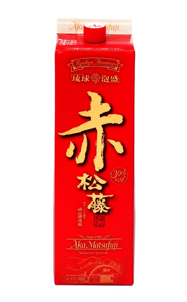赤の松藤 紙パック (1800ml)