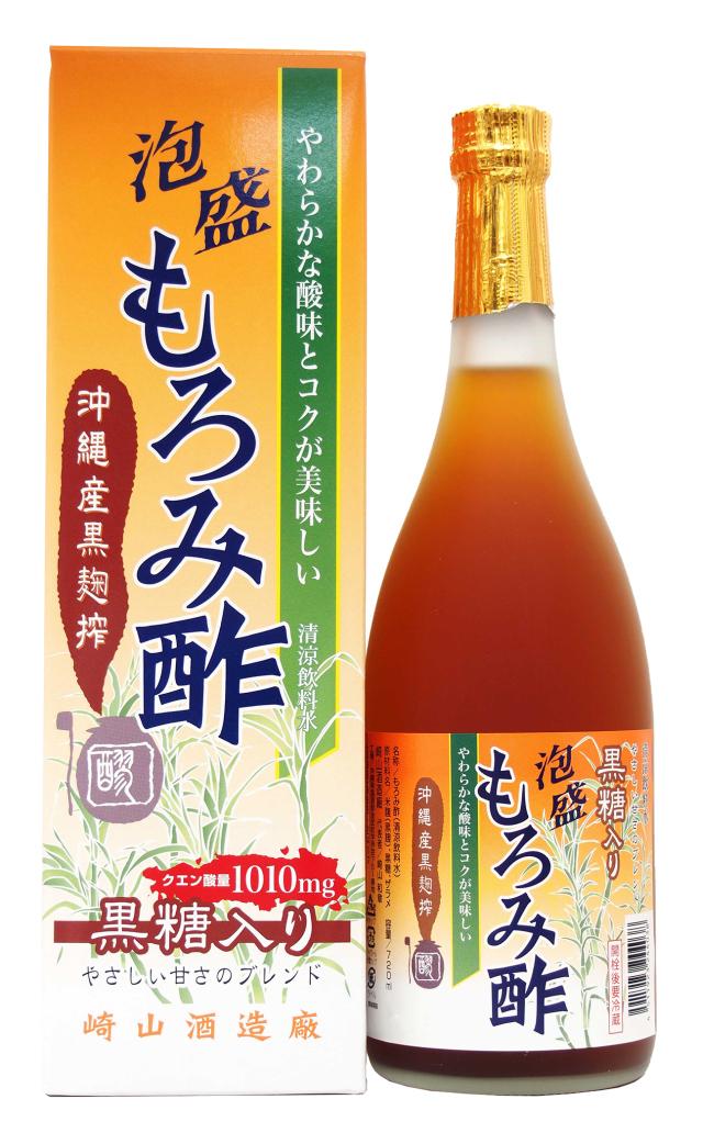 泡盛もろみ酢 黒糖入り (720ml)
