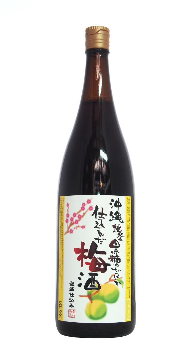 沖縄黒糖梅酒 (1800ml)