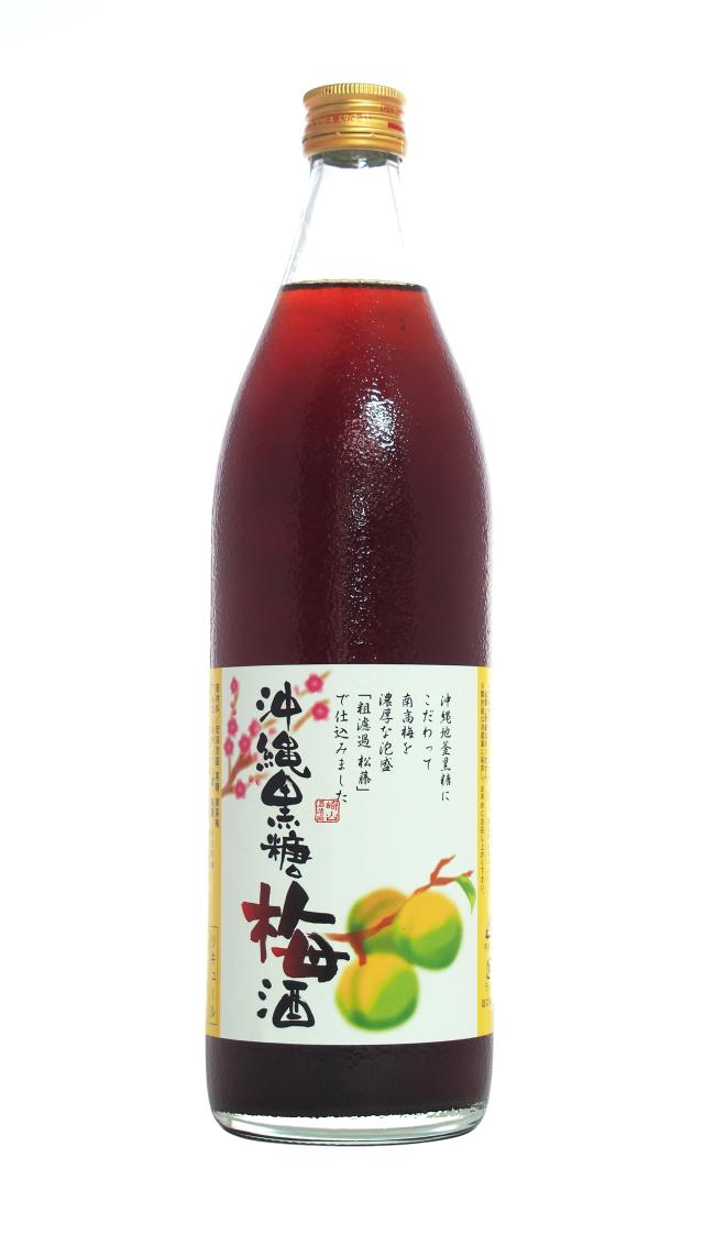 沖縄黒糖梅酒 (900ml)