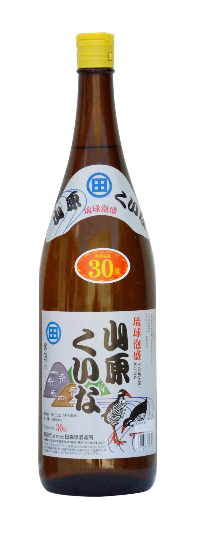 琉球泡盛 山原くいな 30度 1800ml