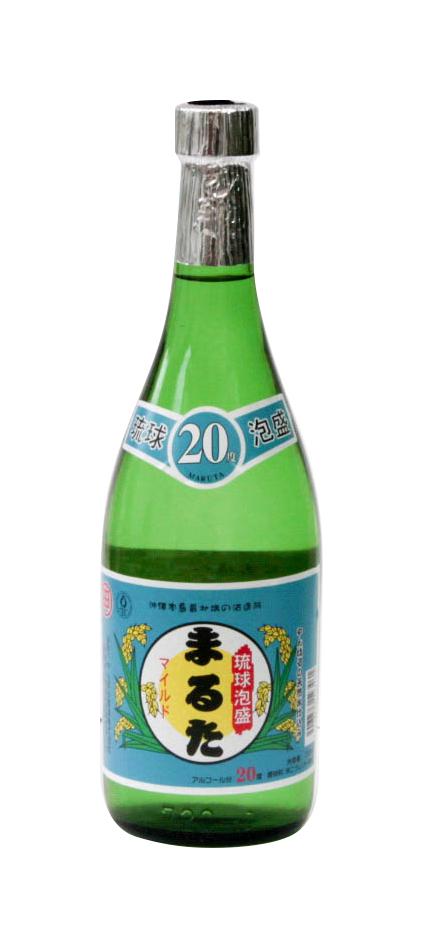 琉球泡盛 まるた マイルド 20度 720ml