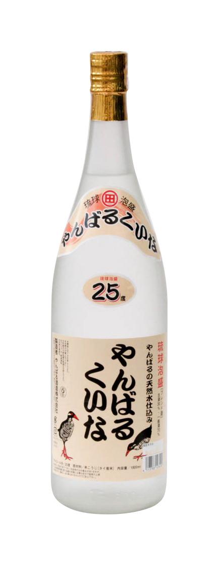 琉球泡盛 やんばるくいな 25度 1800ml
