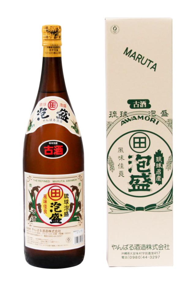 琉球泡盛 まるた 古酒 30度 1800ml