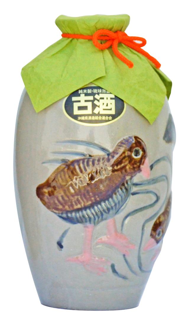 琉球泡盛 やんばるくいな 古酒 (2合壺) 35度 360ml