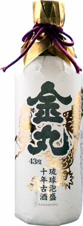 金丸 10年古酒 43度 500ml