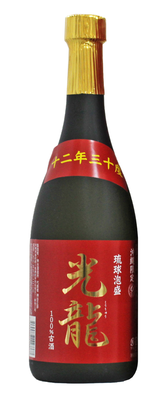 沖縄限定 光龍 十二年古酒 30度 720ml