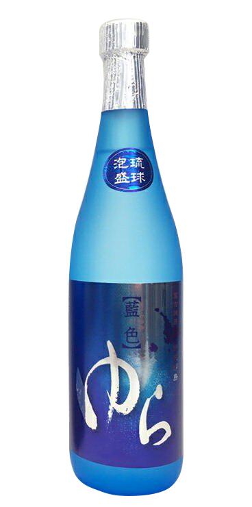 藍色ゆら 25度 720ml