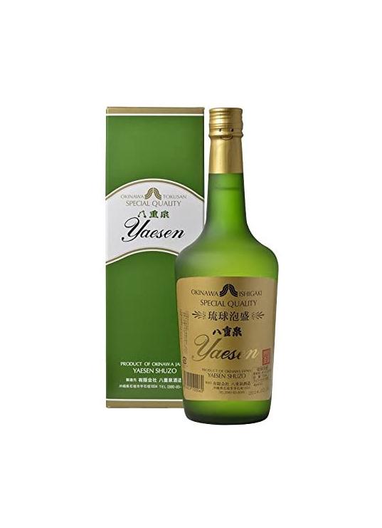 八重泉 グリーン(樽酒) 43度 720ml