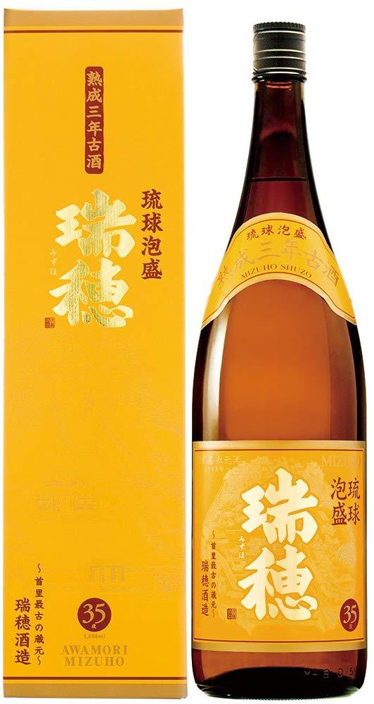 瑞穂酒造 瑞穂 熟成3年古酒 35度 1800ml