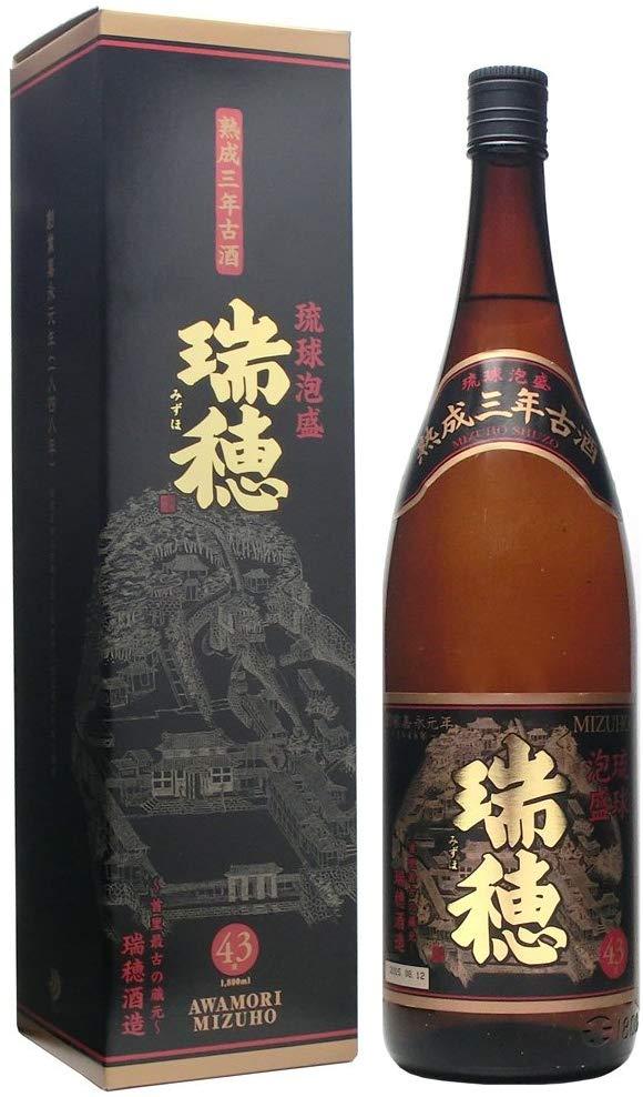 瑞穂酒造 瑞穂 熟成3年古酒 43度 1800ml