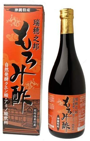 瑞穂酒造 瑞穂之邦 もろみ酢(黒糖入り) 720ml