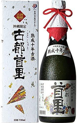 瑞穂酒造 古都首里 熟成10年古酒 25度 720ml