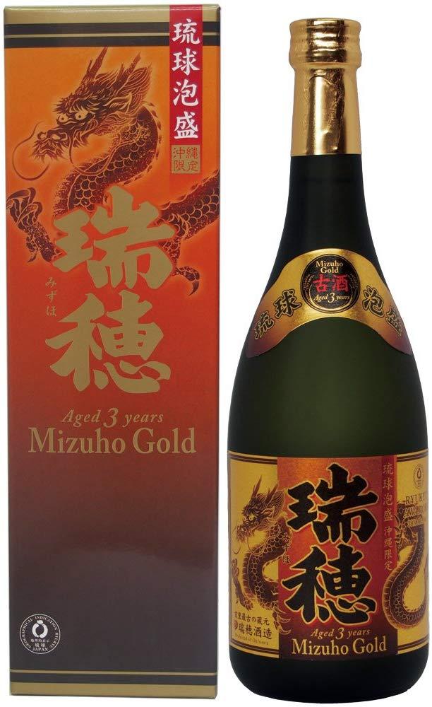 瑞穂酒造 瑞穂ゴールド 3年古酒 (箱付) 30度 720ml