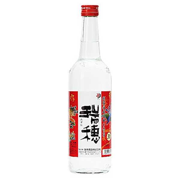 瑞穂酒造 瑞穂 三合瓶 30度 600ml