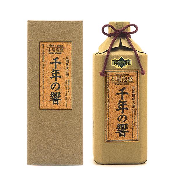 今帰仁酒造 千年の響 古酒 43度 720ml