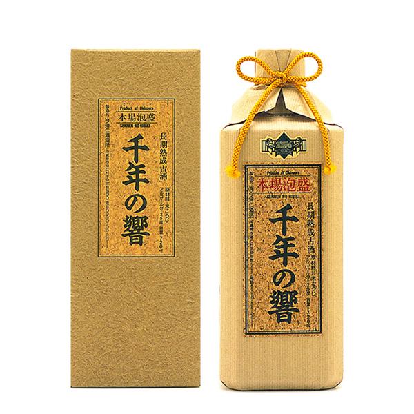 今帰仁酒造 千年の響 古酒 25度 720ml