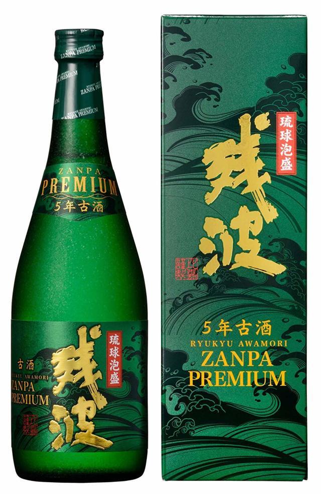 残波プレミアム(緑) 5年 古酒 35度 720ml