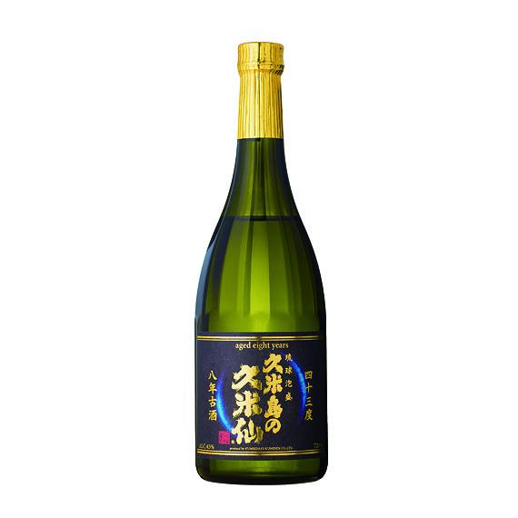 久米島の久米仙 8年古酒 43度 720ml