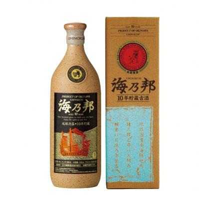 海乃邦 10年古酒 43度 720ml