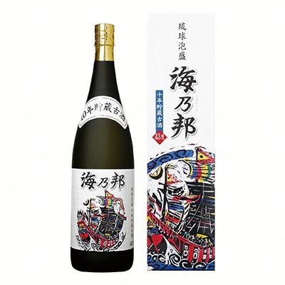 海乃邦10年古酒 43度 1800ml
