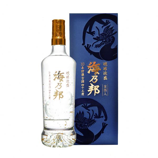 海乃邦 10年古酒 金龍 43度 720ml