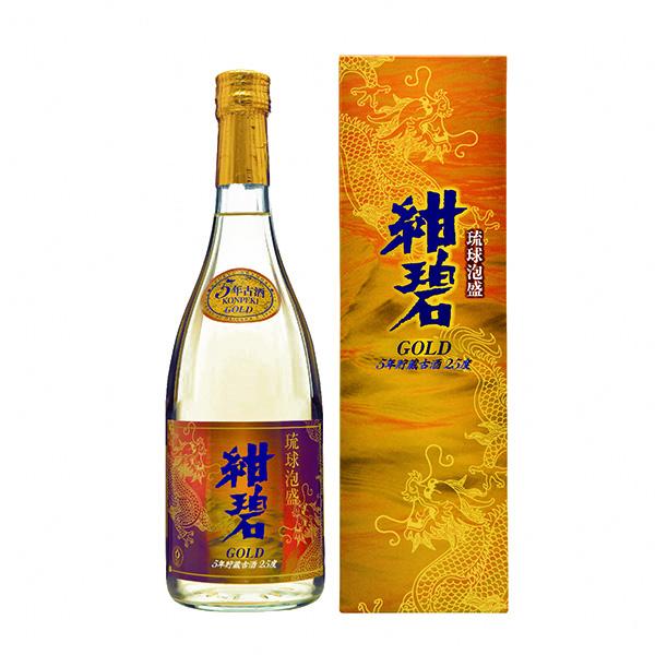 紺碧ゴールド 5年古酒 25度 720ml