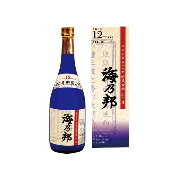 海乃邦 12年古酒 30度 720ml