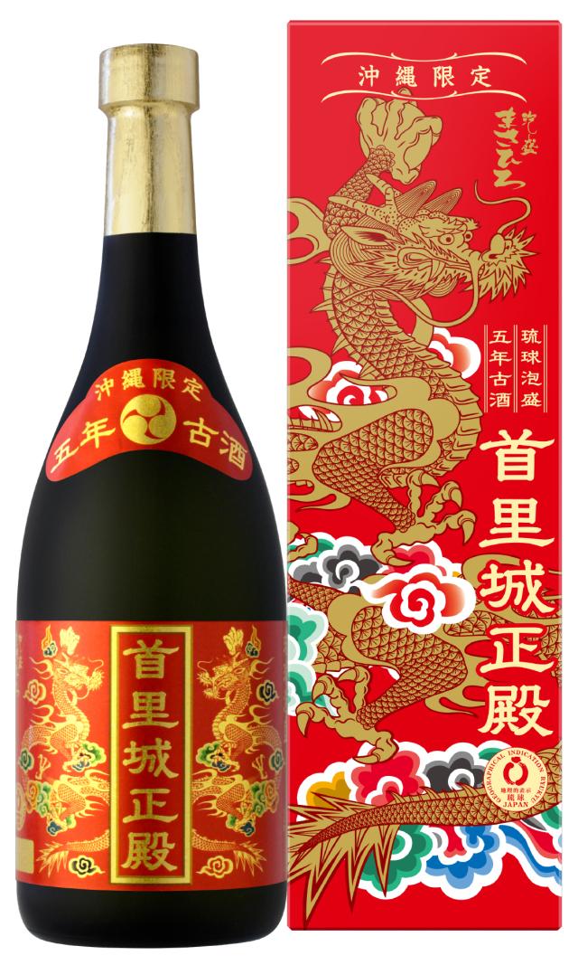 新・首里城正殿 赤 5年古酒 25度 720ml