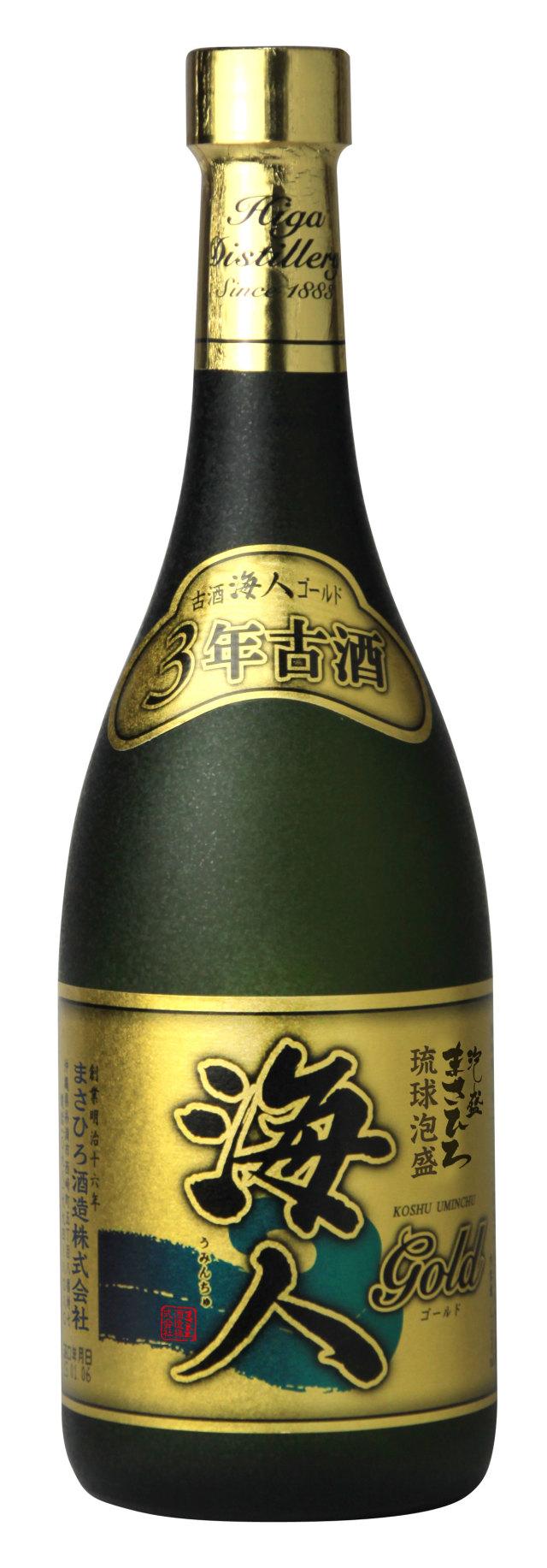 海人ゴールド3年古酒 30度 720ml