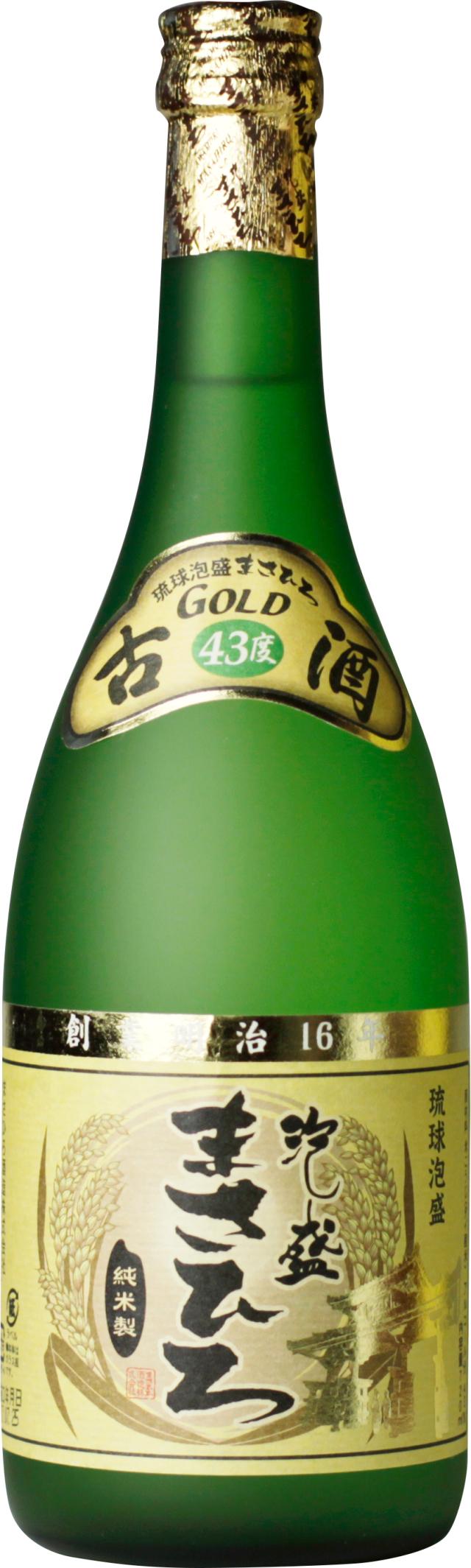 まさひろゴールド古酒 43度 720ml