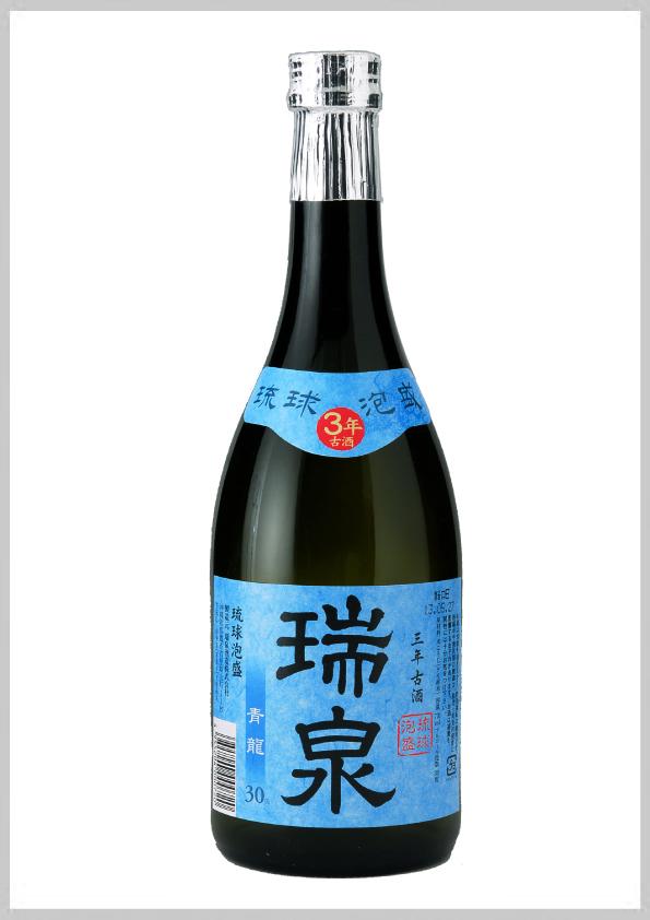 瑞泉酒造 青龍 3年古酒 (箱付) 30度 720ml