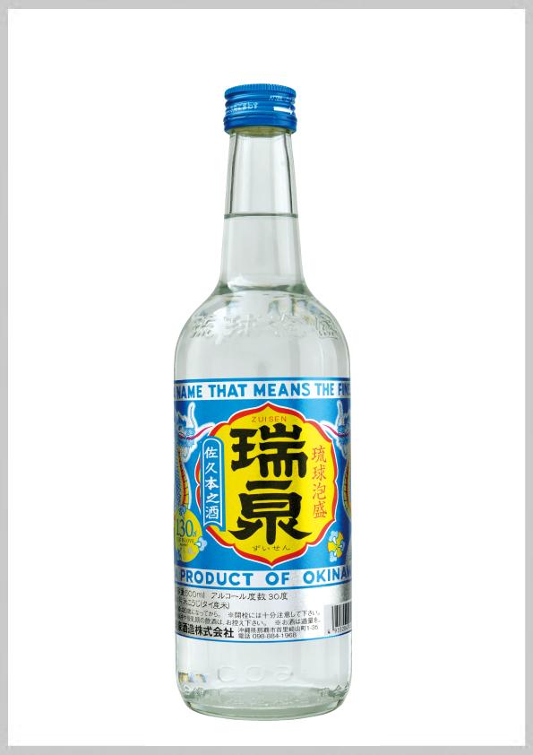 瑞泉酒造 瑞泉 三合瓶 30度 600ml