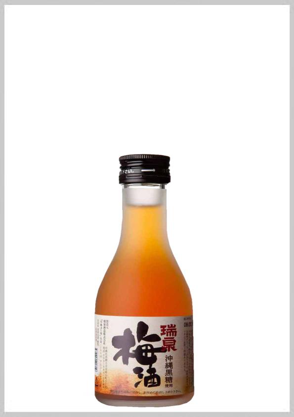 瑞泉酒造 瑞泉梅酒 12度 180ml