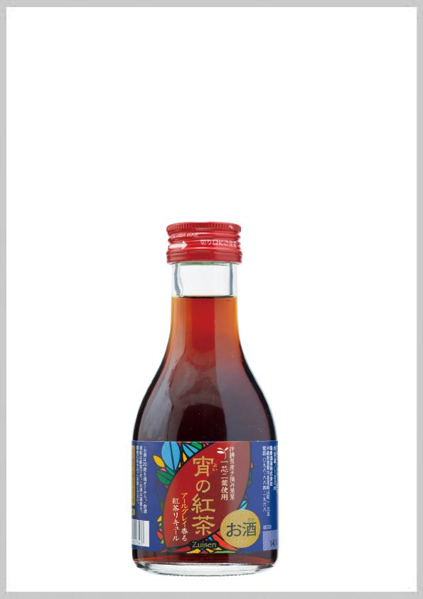 瑞泉酒造 宵の紅茶 12度 180ml