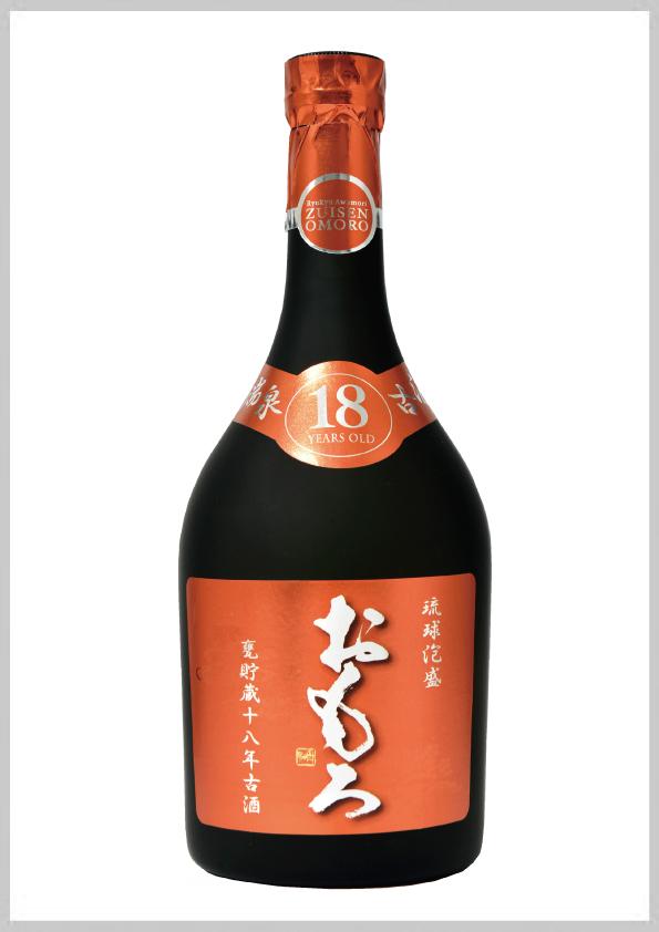 瑞泉酒造 おもろ 18年古酒 39度 720ml
