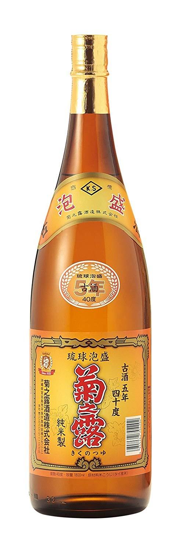 菊之露 古酒 一升瓶40度 1800ml