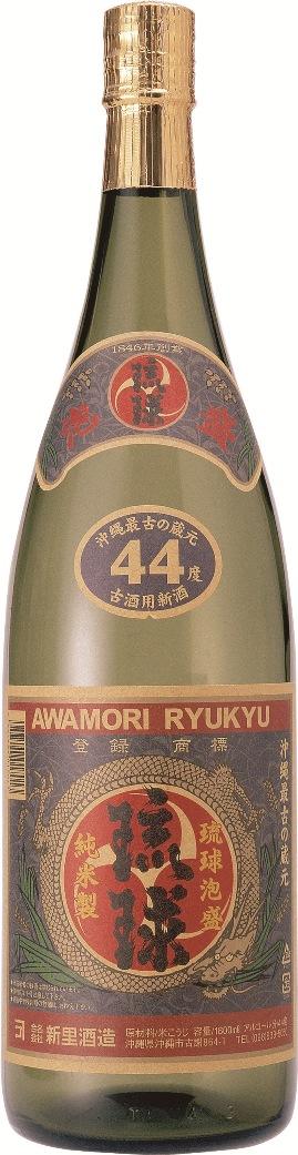 新里酒造 琉球 44度 1800ml