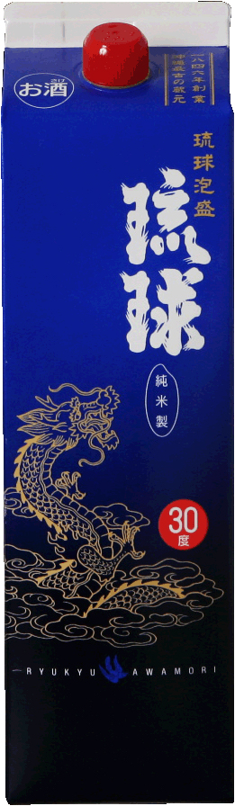 新里酒造 琉球 紙パック 30度 1800ml