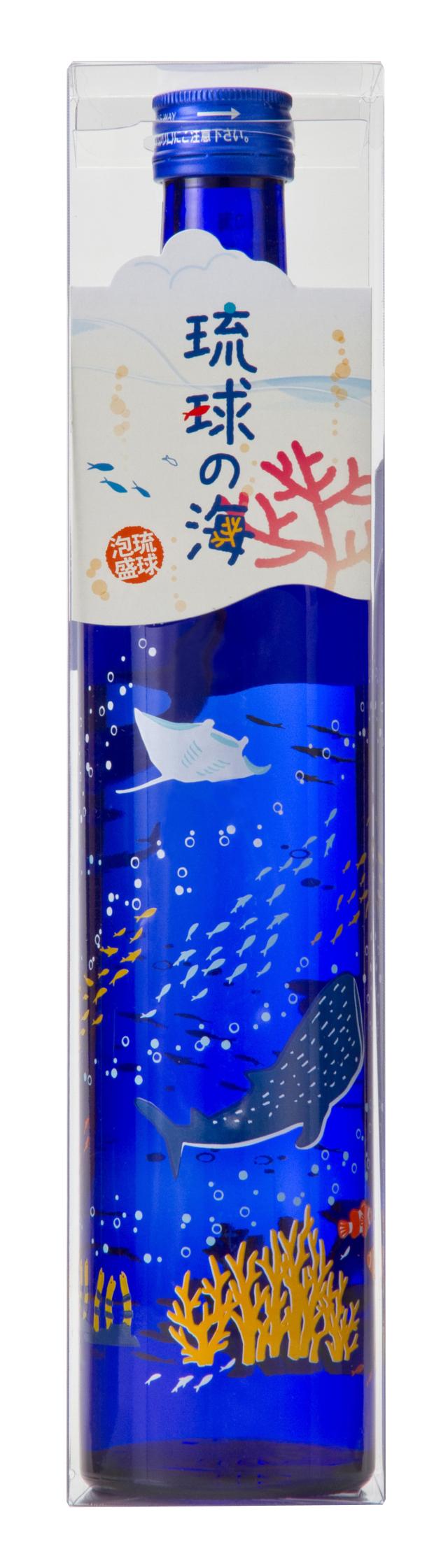 新里酒造 琉球の海 マリンボトル 25度 500ml