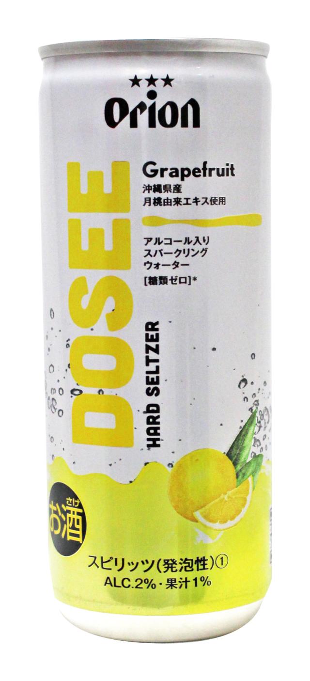 DOSEE グレープフルーツ 2% 250ml