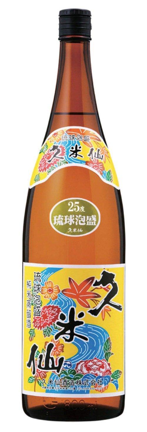 久米仙 一升瓶(紅型) 25度 1800ml