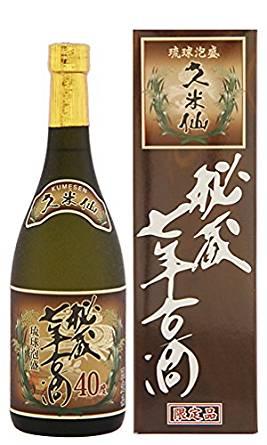 久米仙 秘蔵七年古酒 40度 720ml