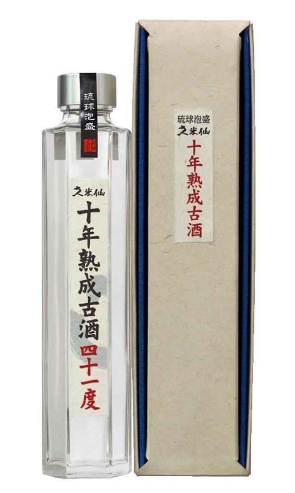久米仙 十年熟成古酒 六角 41度 200ml