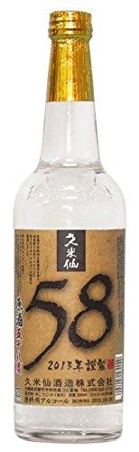 久米仙 原酒 58度 600ml