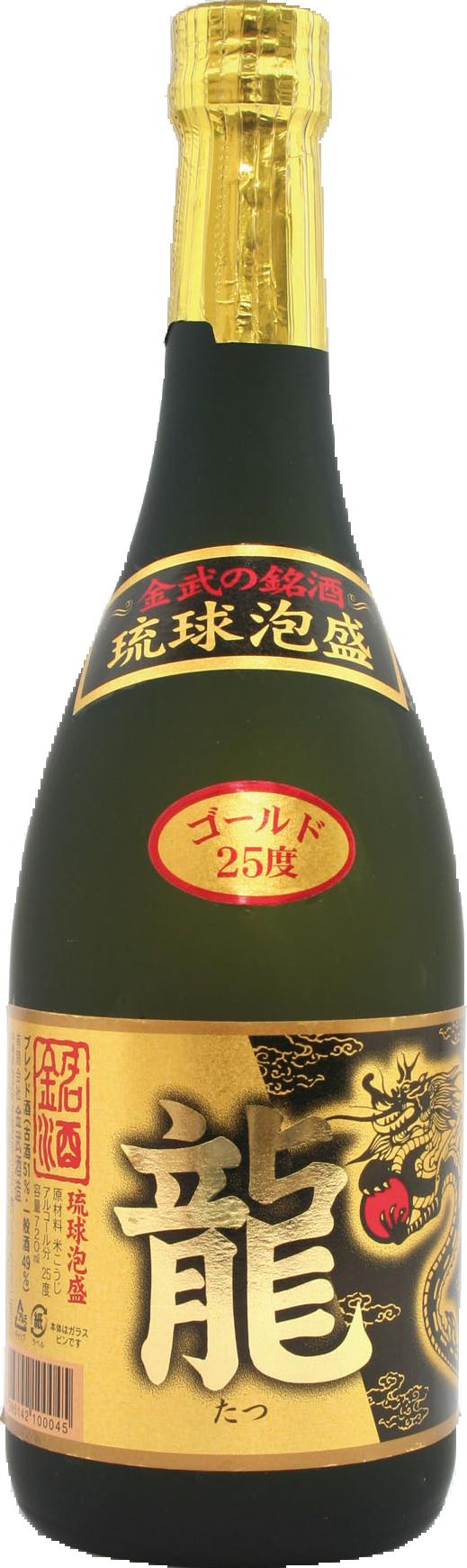 龍 ゴールド25度 720ml